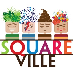 Square Ville: Mind-blowing stickers for iMessage