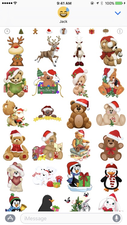 400+ Christmas Stickers screenshot-1