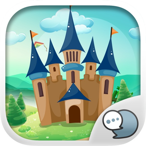 Castle Emoji Stickers Keyboard Themes ChatStick