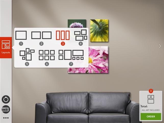 Qowalla - Custom Wall Art Gallery Designer On The App Store