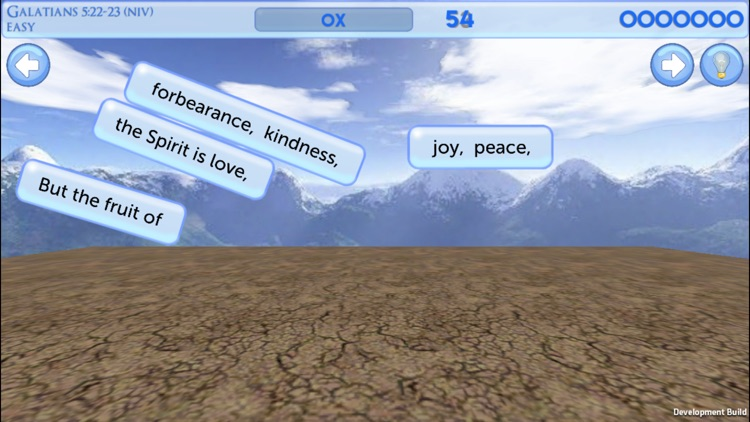 Verse Rain - Fun Bible Verse Memorization Game screenshot-3