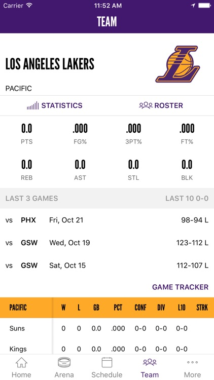Los Angeles Lakers Official Mobile App screenshot-3