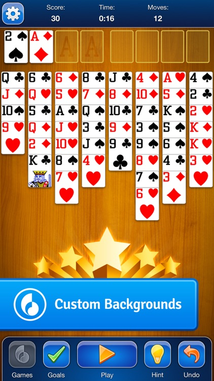 FreeCell Solitaire Card Game screenshot-3