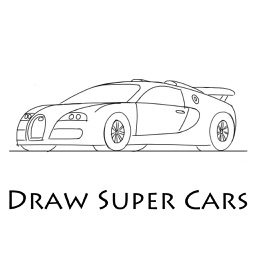 How To Draw Super Cars - Step By Step Drawing