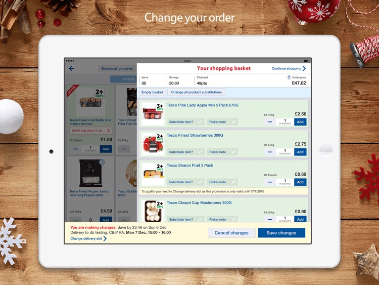 Tesco Fresh Groceries for iPad screenshot-4