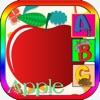 Fruit Alphabet Spelling Words Kindergarten School