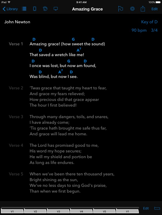 SongSheet Pro - Chord chart songbook and set lists screenshot-0