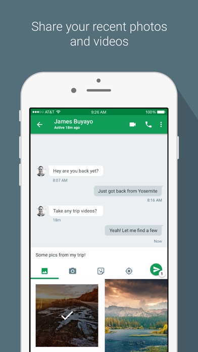Screenshot for Hangouts in United States App Store