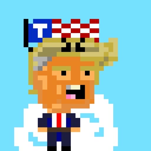 Alien Trump Hairpiece Invaders