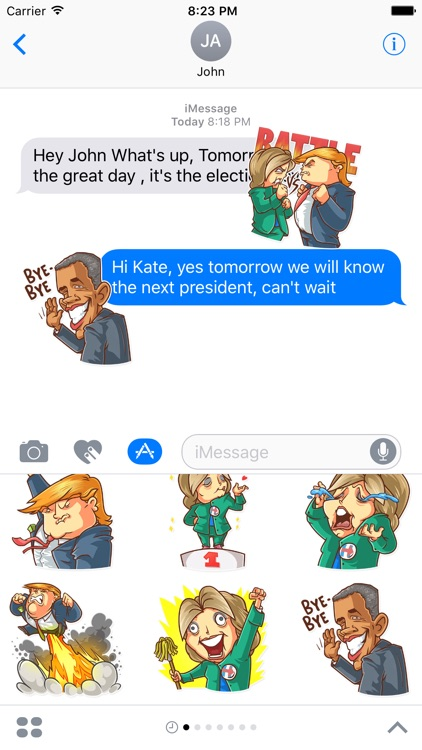 Election Day Emoji Stickers - for iMessage
