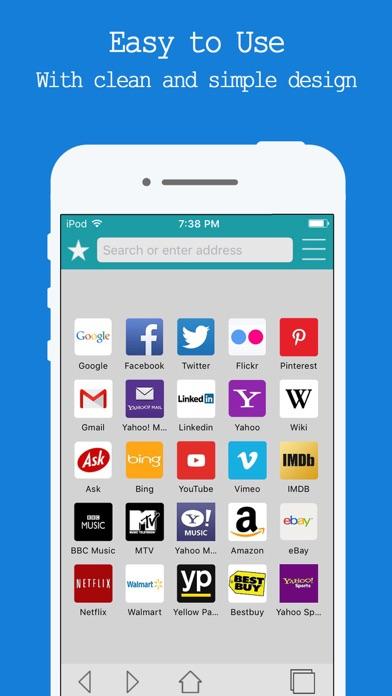 Web Browser Free - Internet Browsing & Safe Search screenshot one
