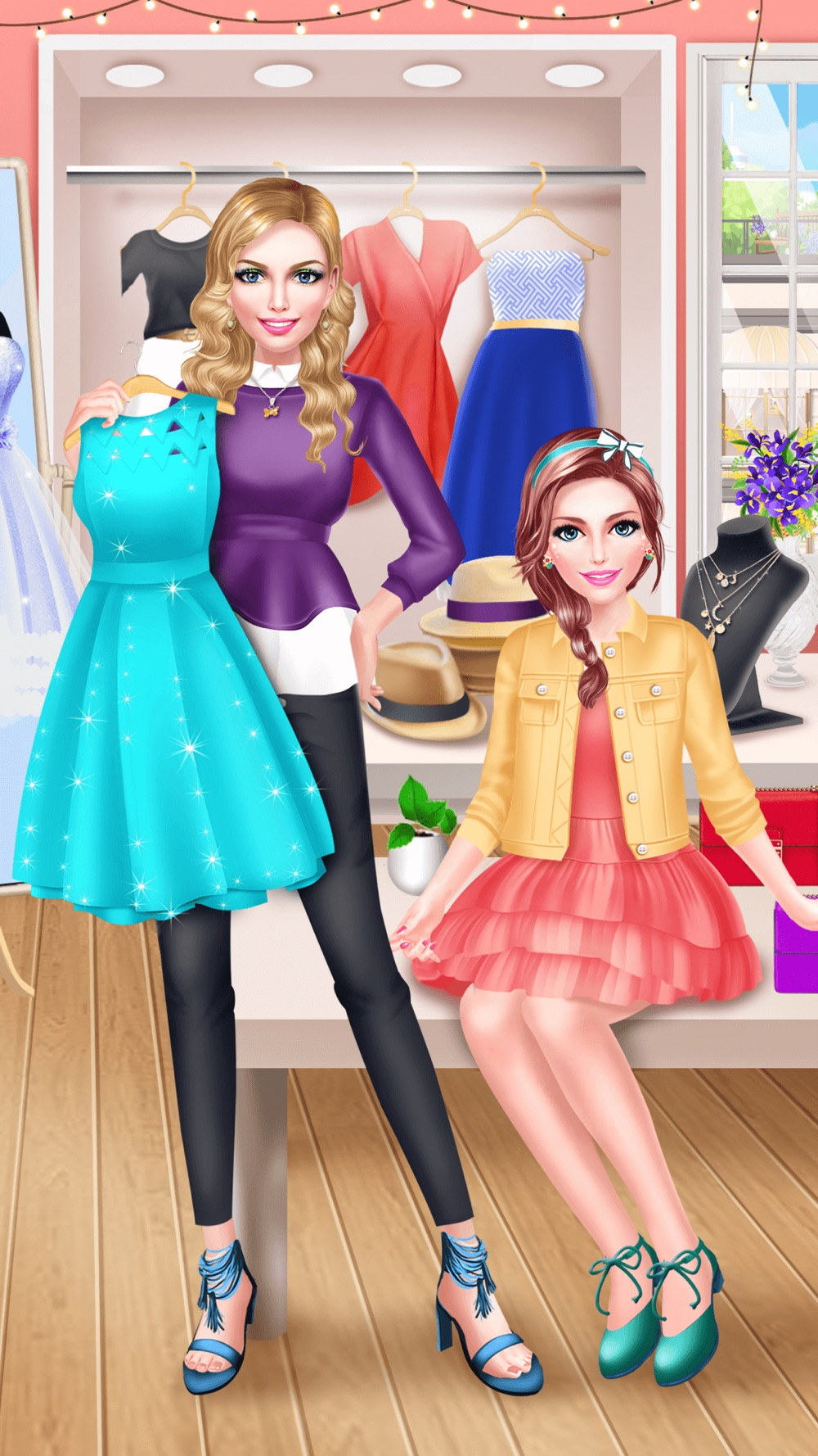 BFF Fashion Boutique Salon – Beauty Makeover Game