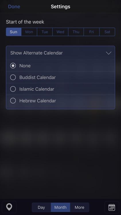 Moon Calendar Pro screenshot-4