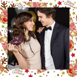 Xmas Frame - Pic Editor for YourMoments