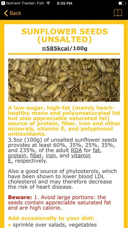 Nutrient Tracker: Nuts, Seeds, Pulses, Grains screenshot-4