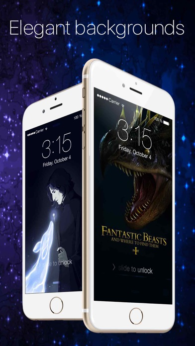 HQ Wallpapers for Fantastic Beasts Screenshot on iOS