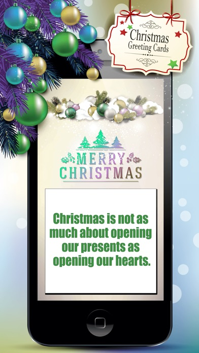 Christmas greeting cards best free templates app price drops screenshot 4 for christmas greeting cards best free templates m4hsunfo