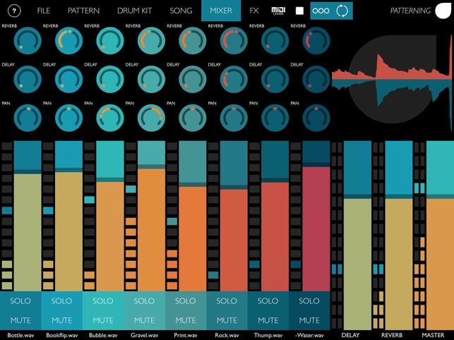 Patterning : Drum Machine