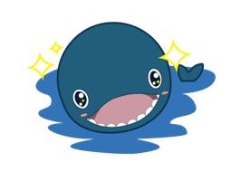 我们设计师同学发现iOS 10的iMessage支持表情贴纸了,按耐不住内心的喜悦,熬夜做出了一套萌萌的小鲸鱼拉布的动态表情给大家享用哦。