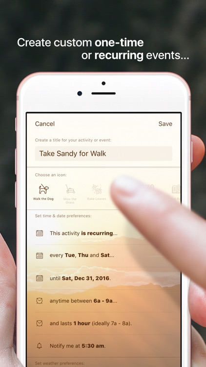 Foresee: Your Personal Activity Forecast