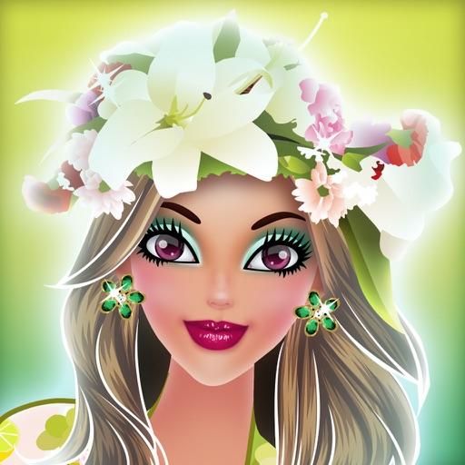 Hawaii Fashion Show - Cute Princess Makeup iOS App