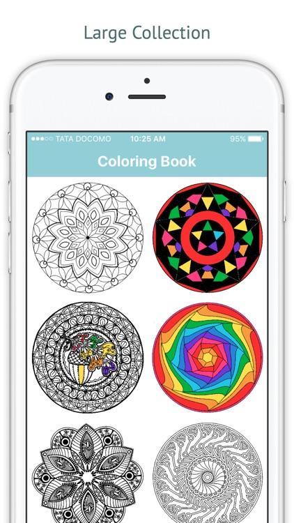 Mandala Coloring Book for Me