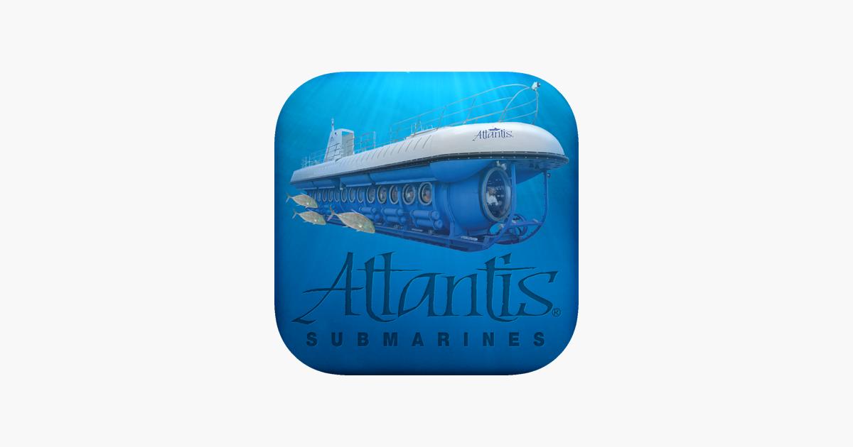 atlantis submarines su app store. Black Bedroom Furniture Sets. Home Design Ideas