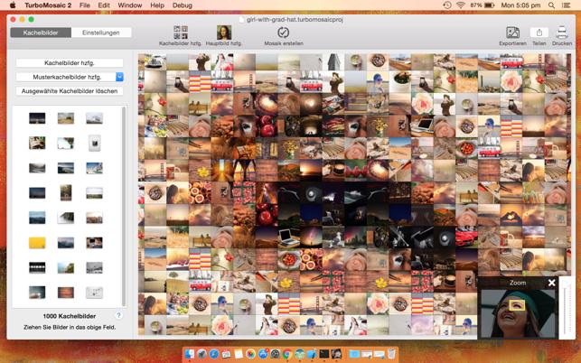 TurboMosaic 2 Lite – Fotomosaik-Ersteller Screenshot