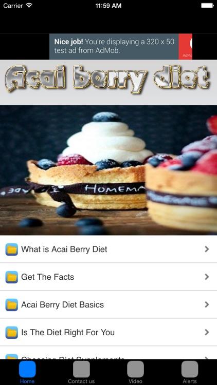 Acai Berry Weight Loss Diet Benefits & Diet Plans