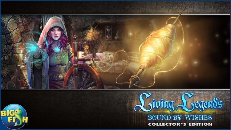 Living Legends: Bound by Wishes - A Hidden Object Mystery screenshot-4