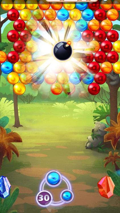 Bubble Jungle Planet
