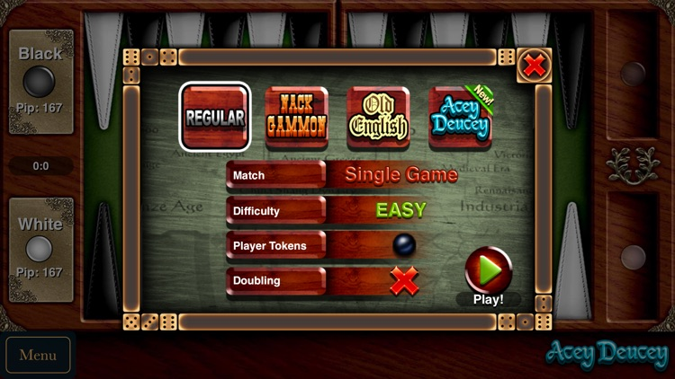 Backgammon - Challenging Board & Dice Game screenshot-3