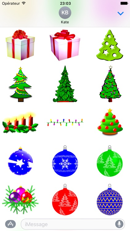 Merry Christmas • Stickers for iMessage screenshot-4