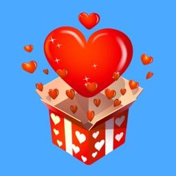 3D Love Stickers for iMessage