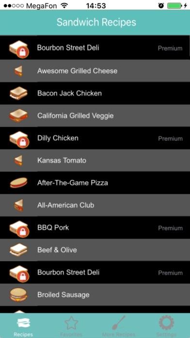Sandwich RezepteScreenshot von 2