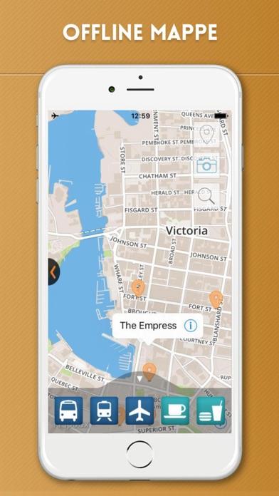Screenshot of Victoria Guida Turistica con Mappe Offline5