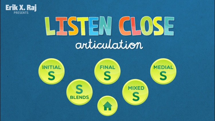 Listen Close Articulation for Speech Therapy