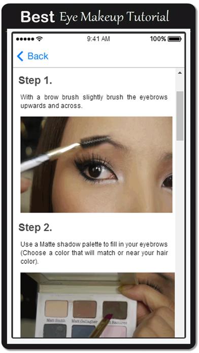 Tutorial Eye Makeup and Eyebrows
