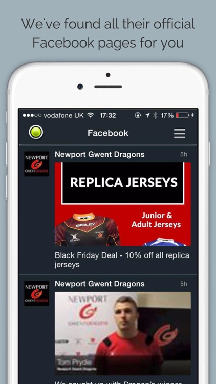 Dragons Rugby by Sport RightNow screenshot-3