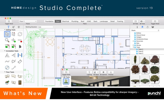 Punch! Home Design Studio Complete 19 on the Mac App Store