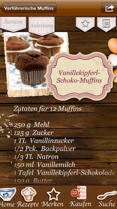 Screenshot for Weihnachts-Muffins Cupcakes Backen Weihnachten in Germany App Store