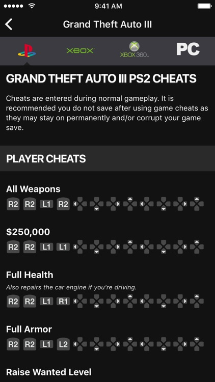 Cheats for GTA 5 - for all Grand Theft Auto games