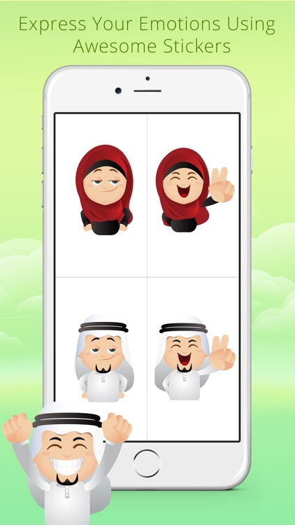 Arabmoji - Stickers screenshot-4