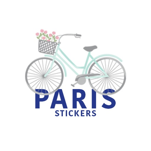 Paris Stickers iMessage