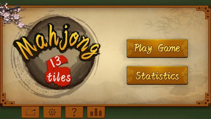 Mahjong 13 tiles Screenshot