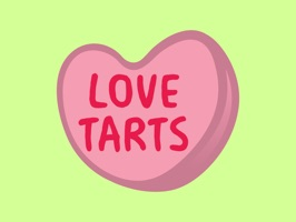 Send the person you love a sweet candy treat with these LoveTarts
