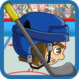 Stick-man Hockey Star Skater Fight-ing
