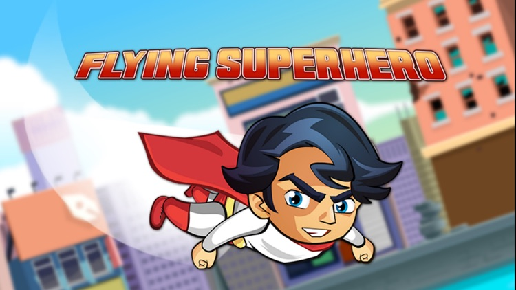 The Flying Superhero