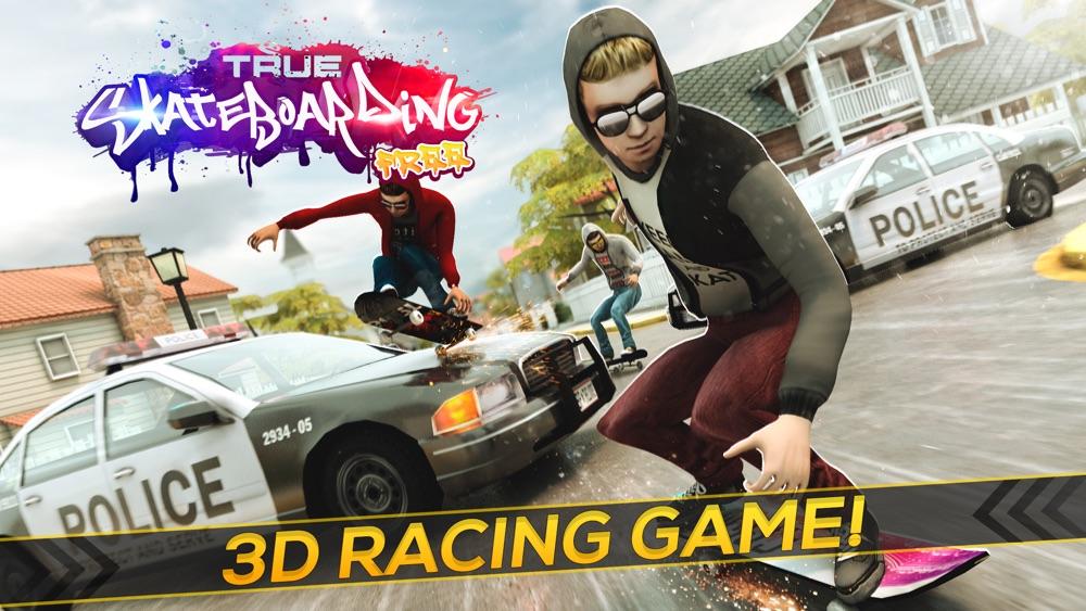 True Skateboarding Ride   Epic Skate Board 3D