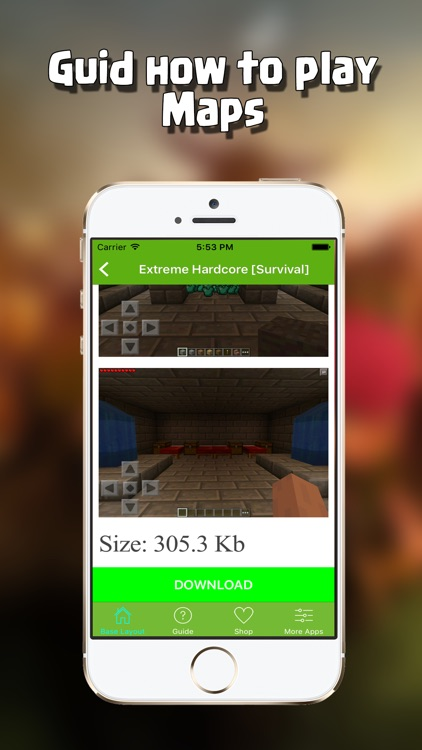 Free Maps for Minecraft PE - Pocket Edition Pro screenshot-3